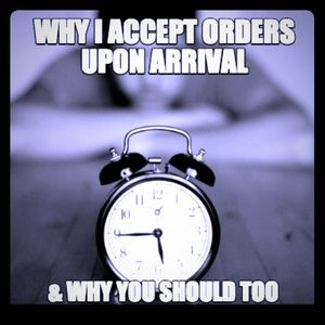 ⏰⏰⏰Please Accept Your Order Upon Arrival! ⏰⏰⏰